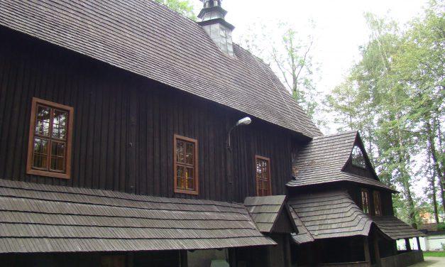L'Église en bois à Gilowice