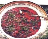 Soupe de betteraves à l'aneth
