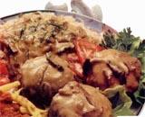 Boulettes sauce champignons