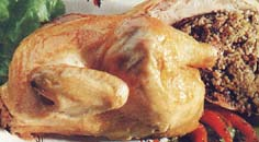 poulet farci