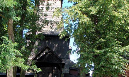 L'église en bois à Stara Wieś