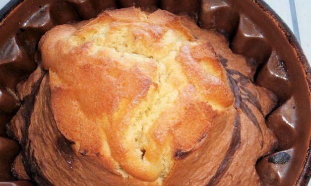 Gâteau à la vanille (Babka)