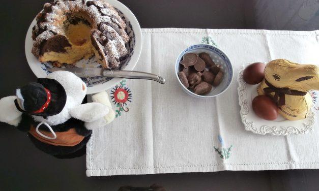 Babka au chocolat