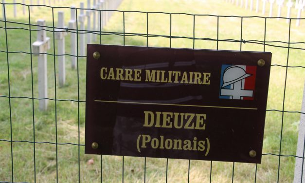 L'histoire du cimetière militaire de Dieuze
